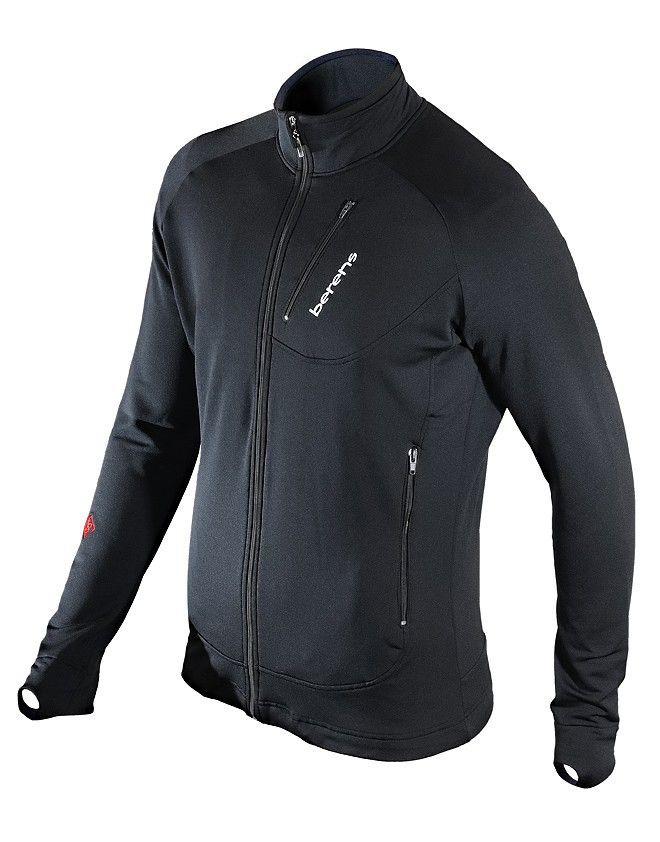 df560b2c471916 bluza termoaktywna BERENS Langus - czarna - Berens - producent odzieży  termoaktywnej