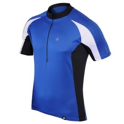 koszulka termiczna rowerowa BERENS Dilin - niebieska