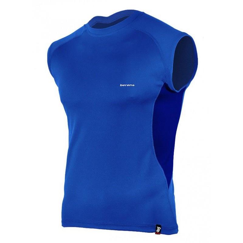 koszulka termoaktywna bez rękawów BERENS BaseProtect - limonka
