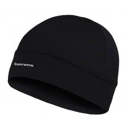 Lekka czapka termoaktywna BERENS BaseProtect - czarna