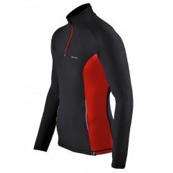 bluza do biegania BERENS Enda czerwona