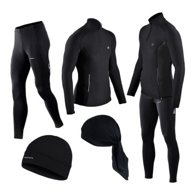 GRATISY! spodnie i bluzy  termoaktywne BERENS czarny