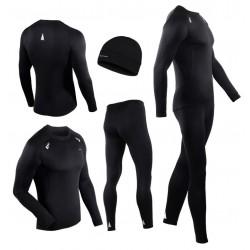 bielizna termoaktywna do biegania BERENS BaseRunning- czarna
