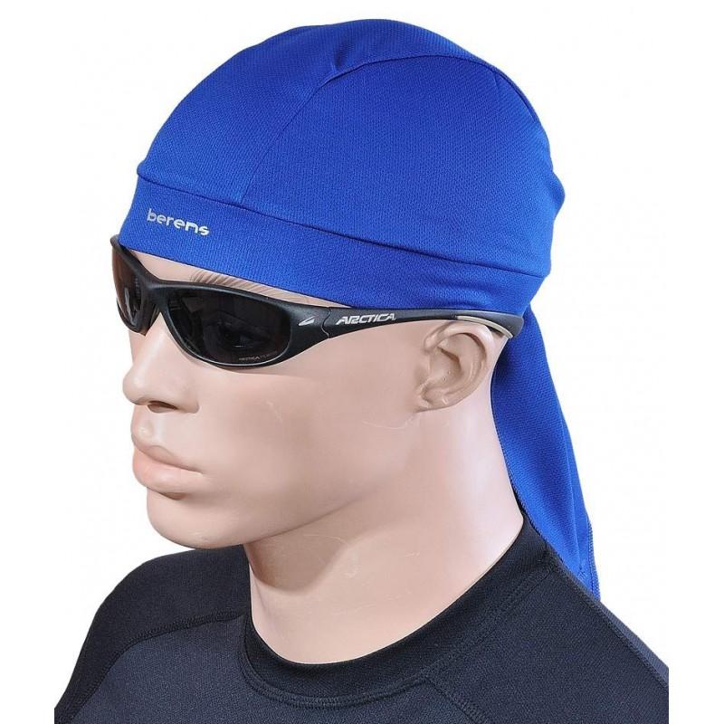 czapka bandamka termoaktywna BERENS BaseProtect - niebieska