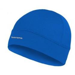 lekka czapka termoaktywna BERENS BaseProtect - niebieska