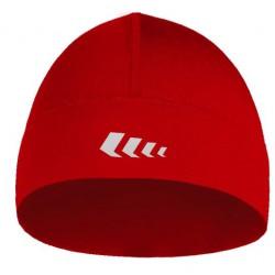 lekka czapka do biegania BERENS BaseProtect - czerwona