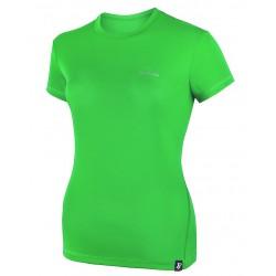 damska koszulka termoaktywna z krótkim rękawem BERENS Merga - limonka