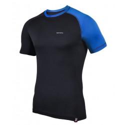 koszulka termoaktywna krótki rękaw BERENS 2Col - czarnaNB