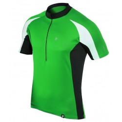 koszulka rowerowa BERENS Dilin - limonka