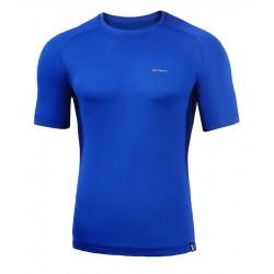 Koszulka termiczna z krótkim rękawem BERENS BaseProtect - niebieska