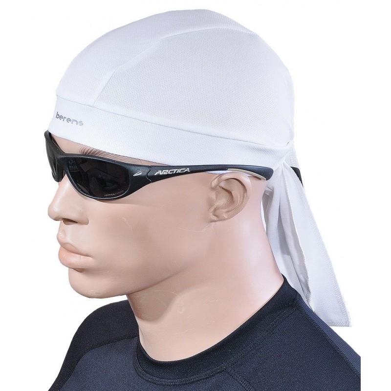 czapka bandamka termoaktywna BERENS BaseProtect - biała