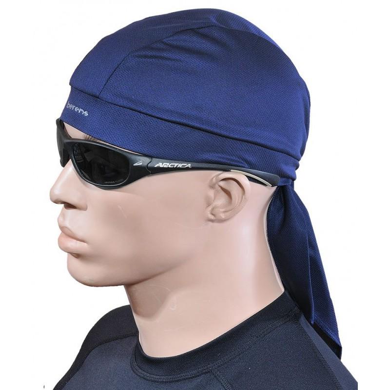 czapka bandamka termoaktywna BERENS BaseProtect - granatowa