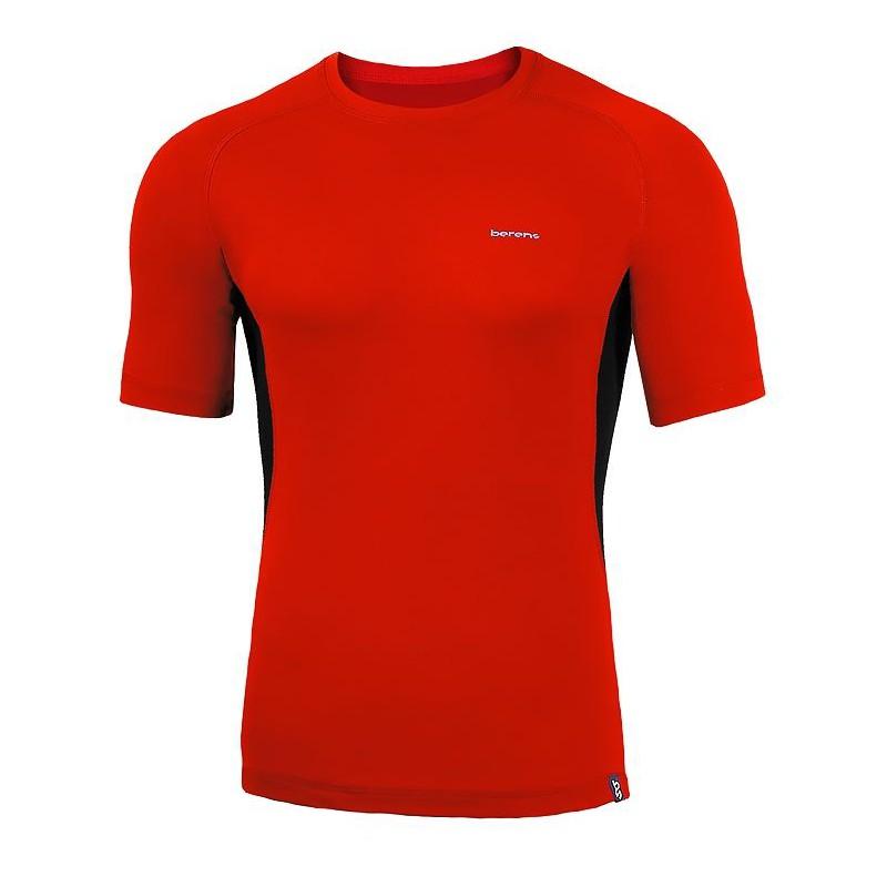 koszulka termiczna z krótkim rękawem BERENS BaseProtect - czerwona