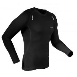 koszulka termoaktywna do biegania BERENS Bigan LS - czarna