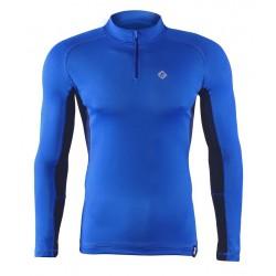 koszulka termoaktywna do bieganiaz zamkiem BERENS - chaber
