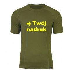 taktyczna koszulka termoaktywna z nadrukiem Berens Karris