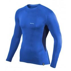 Koszulka termoaktywna z długim rękawem BERENS BaseProtect - niebieska
