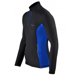 bluza do biegania BERENS Enda niebieska