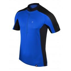 koszulka rowerowa BERENS Dilin - niebieski czarny