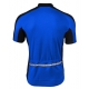 koszulka rowerowa BERENS Dilin - czarno-niebieska