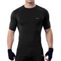 koszulka termoaktywna z krótkim rękawem BERENS BaseProtect - czarna