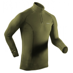 lekka bluza / golf termoaktywny BERENS Ator khaki