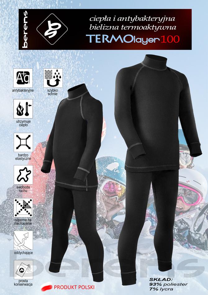 83ebdea0857875 Bieliznę termoaktywną TL100 polecamy dla młodych adeptów narciarstwa, do  zabaw na świeżym powietrzu w czasie chłodnych i zimnych dni. Szerzej o  odzieży ...