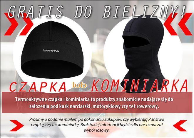 termoaktywna czapka lub bandamka do biegania - gratis